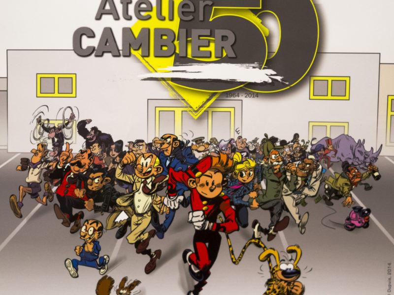 Cadeau des Editions Dupuis pour les 50 ans de Atelier Cambier