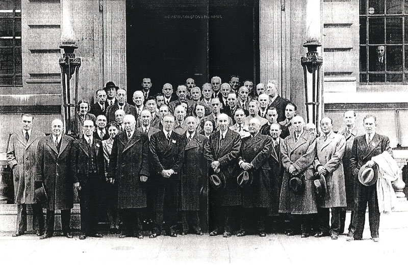 Fondateurs de la norme ISO - Londres 1946
