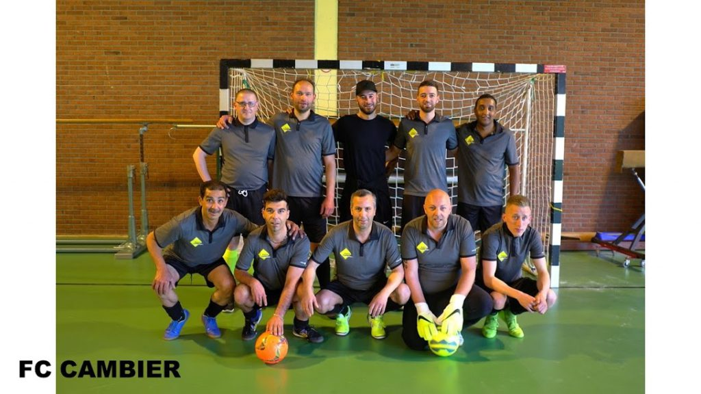L'Atelier Cambier au Tournoi mini-foot de Formidable asbl: soutenir les plus démunis et appliquer les valeurs sportives en équipe
