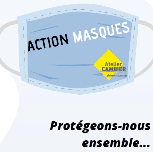 ACTION MASQUES – Protégeons-nous ensemble…